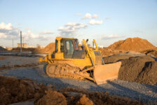 grading construction company for sale
